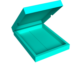 Large Slip Lid Box