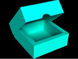 Small Slip Lid Box